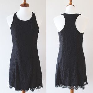 NWT H&M black lace dress